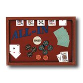 Hand-Carved 'All In' Sign