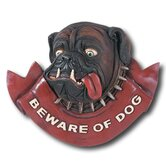 &quot;Beware of Dogs&quot; Outdoor Sign