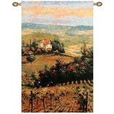 Golden Vineyard II Tapestry