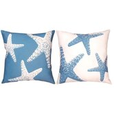 Nautical Nonsense Starfish Pillow