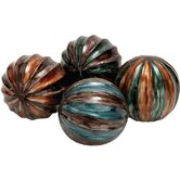 4 Piece Delmar Ball D&eacute;cor Set