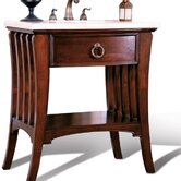 Ariel Sink Chest in Dark Mahogany