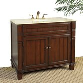 "39"" Newport Sink Chest in Chestnut Brown"