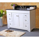 "48"" Single Bathroom Vanity Set with Two Door"