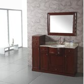 "43"" Single Bathroom Vanity Set in Cherry"
