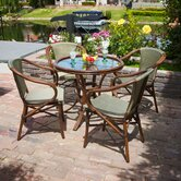 Bali 5 Piece Outdoor Dining Set