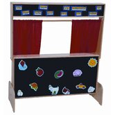 Deluxe Puppet Theater with Flannelboard