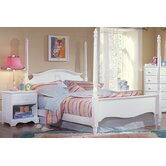 Carolina Cottage Princess Four Poster Bed