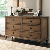 Alfresco 6 Drawer Standard Dresser