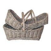 White x White Decorative Baskets, Bowls & Boxes