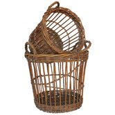 French Bushel Basket (Set of 2)