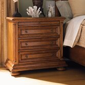 Island Estate Martinique 3 Drawer Nightstand