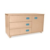 Low 3 Drawer Dresser