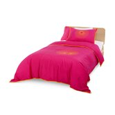Starburst Bedding Collection in Pink and Orange