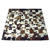 Side Trim Haired Cowhide Rug