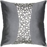 Silk Crystal Square Pillow