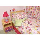 Magic Garden Twin Duvet Cover / Bedskirt / Sham Set