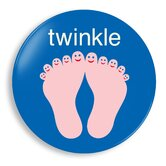 Twinkle Toes Plate
