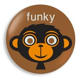 Funky Monkey Plate