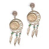American Coin Treasures Earrings