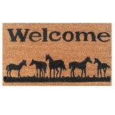 Horses Welcome Doormat