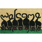 Cats Welcome Doormat