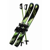 Kid's Beginner Snow Skis and Poles