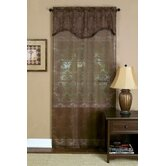 Dakota Panel with Attached Pleated Valance