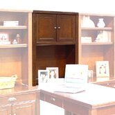 Tribeca Loft Cherry Hutch With Doors