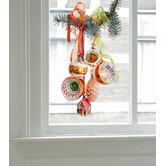 Limited Christmas Edition Window Decals in Orange