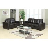 Rose Bonded Leather Seating Group
