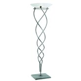 Antinea One Light Floor Lamp in Sanded Grey