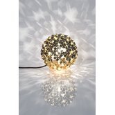 Orten'Zia Small One Light Floor Lamp in Gold Plated