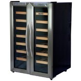 Dual Zone Thermoelectric 32 Bottle Wine Cooler