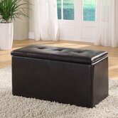 Urban Leatherette Storage Bench
