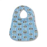 Bib in Hopscotch Blue