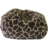Giraffe Safari Bean Bag Chair