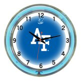 "NCAA 18"" Team Neon Wall Clock"