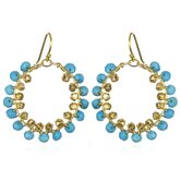 White Oak Turquoise Natalia Earrings