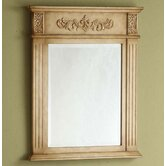"Sienna 24"" Vanity Mirror in Antique White"