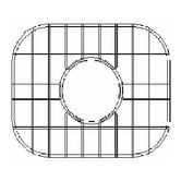 Sink Grid for Undermount Round Single Bowl Kitchen Sink