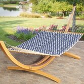 Roman Arc Cypress Hammock Stand