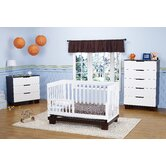 Mercer Three Piece Convertible Crib Nursery Set