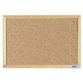 Economy Series Natural Pebble Grain Cork Bulletin Board