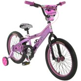 Girls 18&quot; Lark BMX Bike With Training Wheels