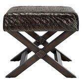 Riva Hourglass Weave Stool