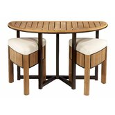 Bronzewood Medium Tapas Dining Set