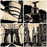 New York City Panel (Set of 4)