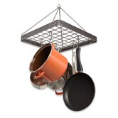 Decor Cottage Square Hanging Pot Rack