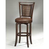 "Norwood 26.5"" Swivel Counter Stool in Cherry"
